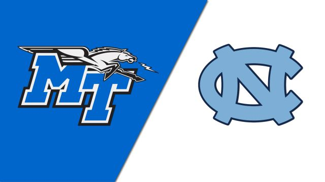Middle Tennessee State vs. #16 North Carolina (Baseball)
