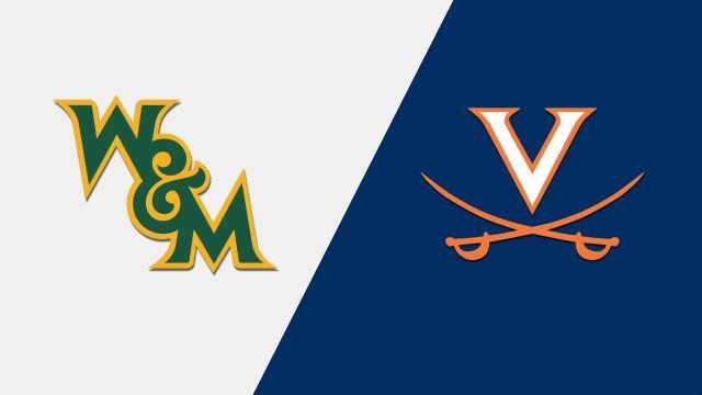 William & Mary vs. Virginia (Baseball)