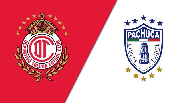 In Spanish-Toluca vs. Pachuca (Cuartos de Final, Partido de Vuelta) (Copa MX)