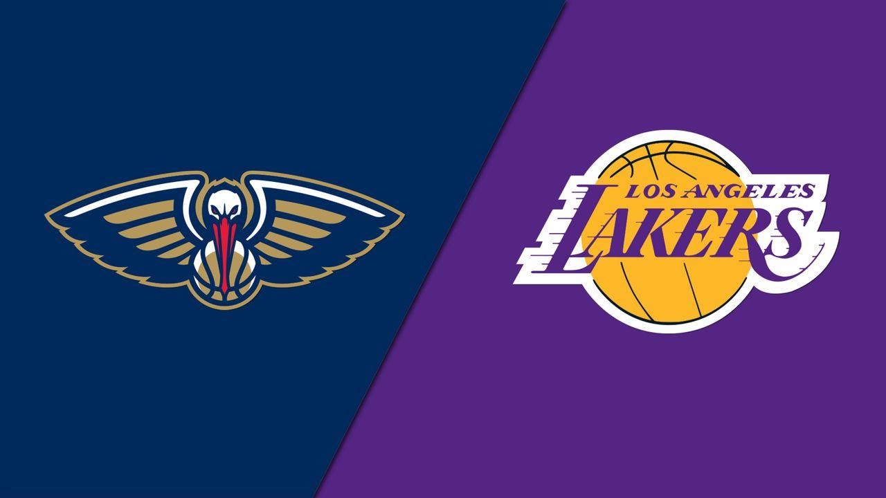 Rail Cam New Orleans Pelicans Vs Los Angeles Lakers Watch Espn
