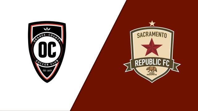 Orange County SC vs. Sacramento Republic FC