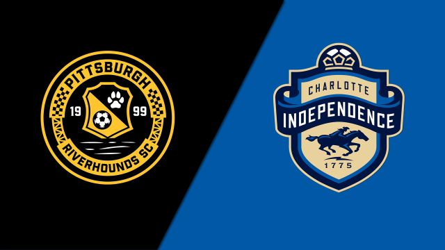 Pittsburgh Riverhounds SC vs. Charlotte Independence