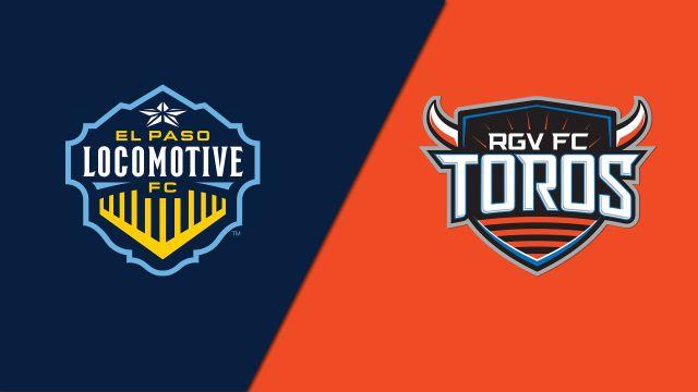 El Paso Locomotive FC vs. Rio Grande Valley FC Toros
