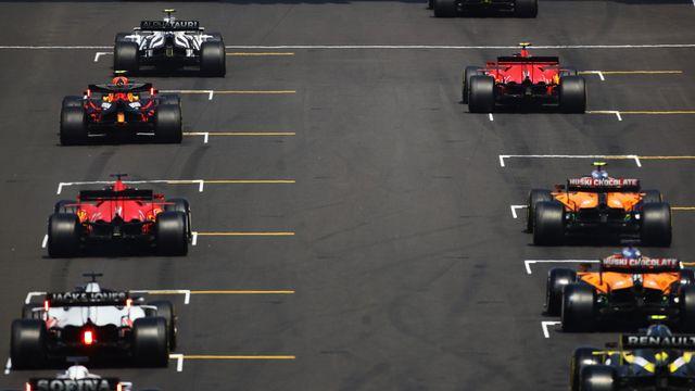 Formula 1 Hungarian Grand Prix Qualifying