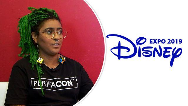 Olhar espnW na Expo Disney - Andreza Delgado explica a criação da PerifaCon