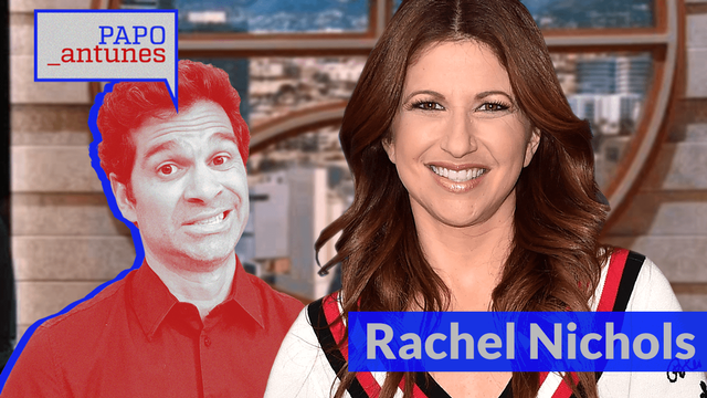 Papo Antunes #6 - Rachel Nichols dá 'banho' de carisma, fala sobre proximidade com astros e muito mais