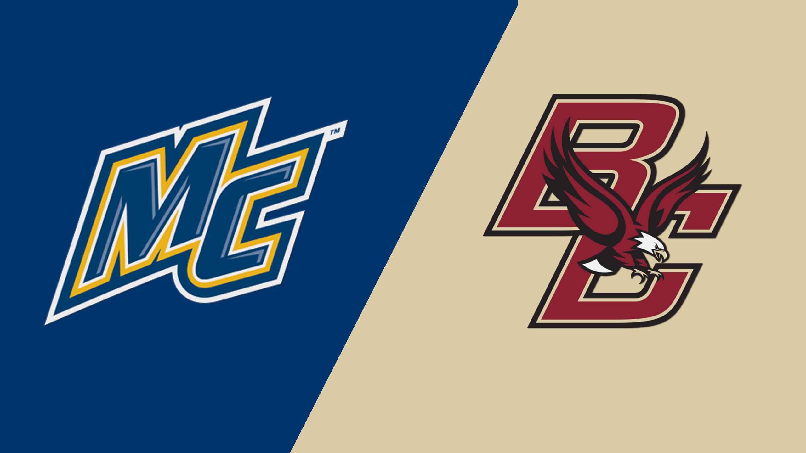Merrimack vs. #9 Boston College (W Hockey)