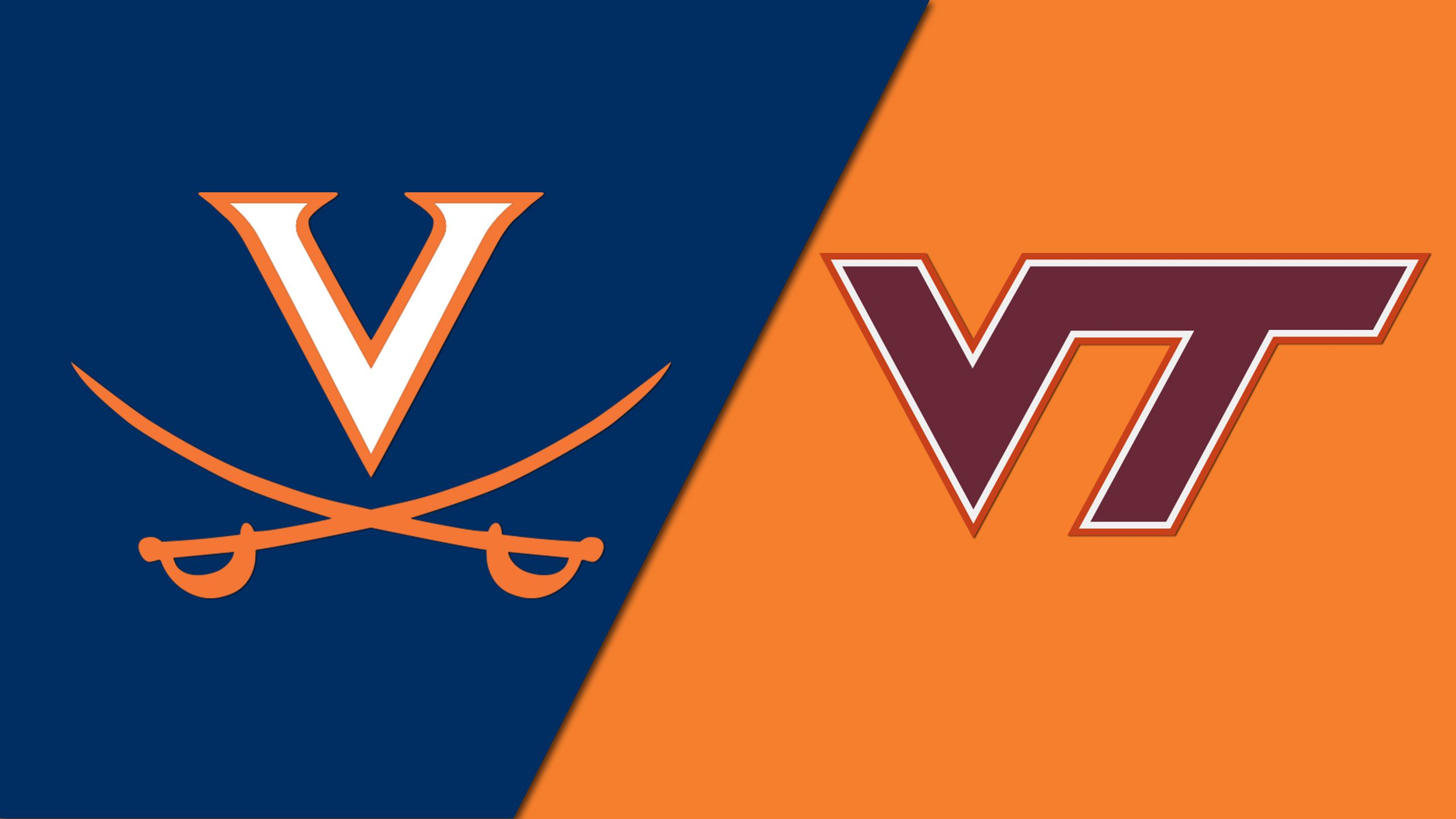 #4 Virginia vs. #22 Virginia Tech (M Basketball) (re-air)