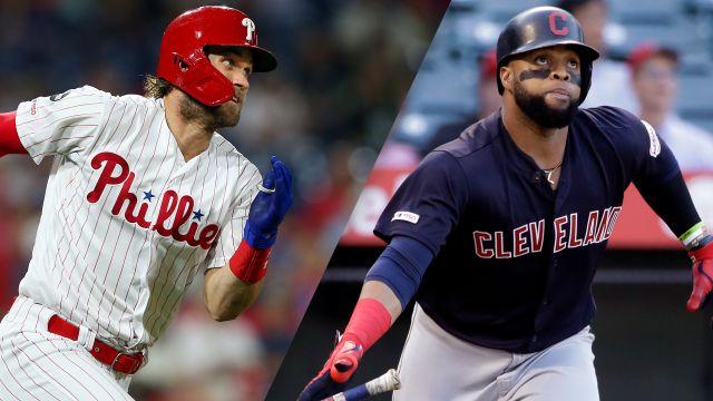 In Spanish-Philadelphia Phillies vs. Cleveland Indians