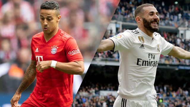 In Spanish-Bayern Munich vs. Real Madrid (International Champions Cup)
