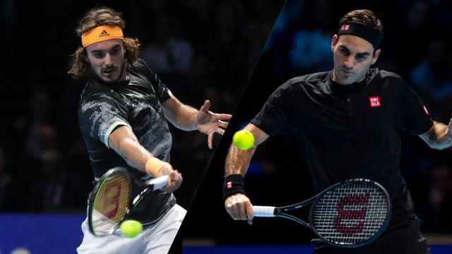 (6) Tsitsipas vs. (3) Federer