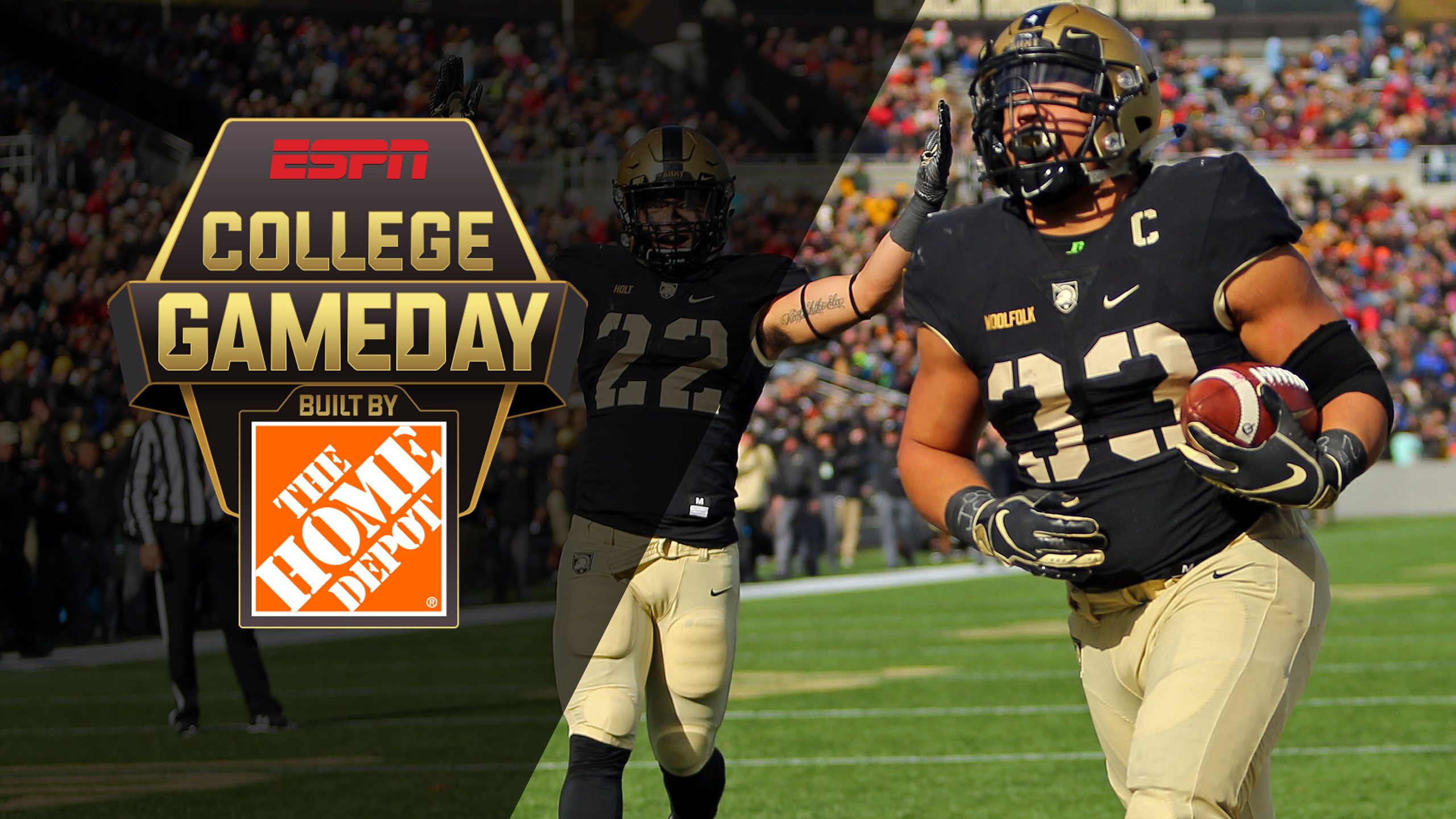 Sat, 12/8 - College GameDay Built by The Home Depot