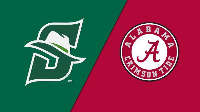 Stetson vs. Alabama (W Basketball)