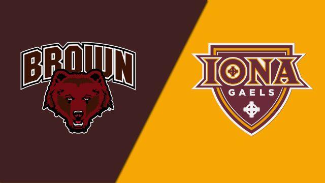 Brown vs. Iona (W Lacrosse)