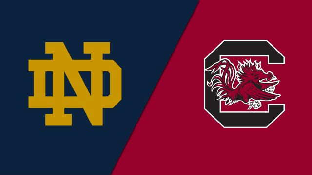 Notre Dame vs. #2 South Carolina (Second Round) (NCAA Women's Soccer Championship)