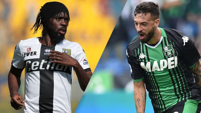 Wed, 9/25 - Parma vs. Sassuolo (Serie A)