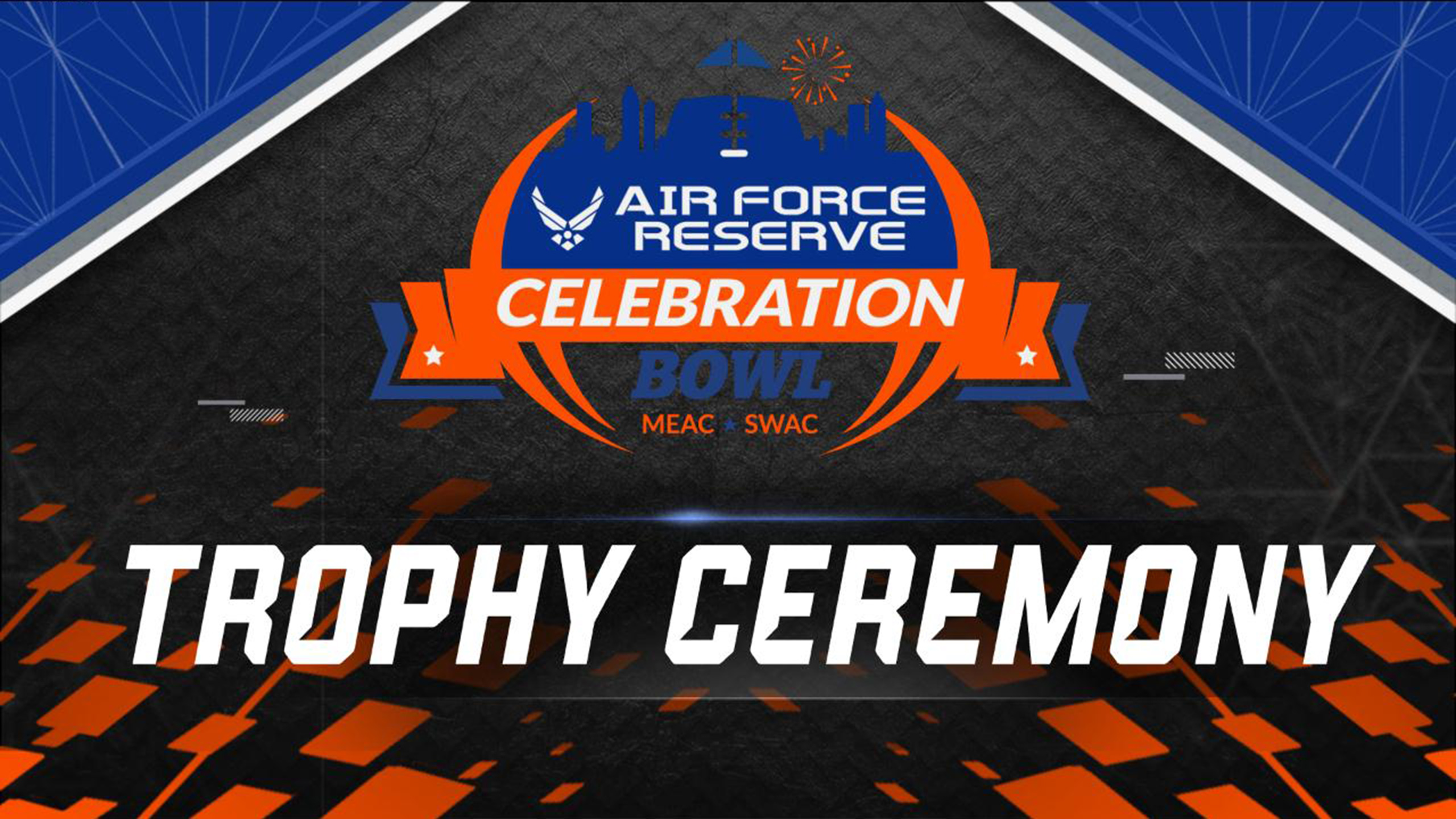 Air Force Reserve Celebration Bowl Trophy Ceremony Presented by Capital One