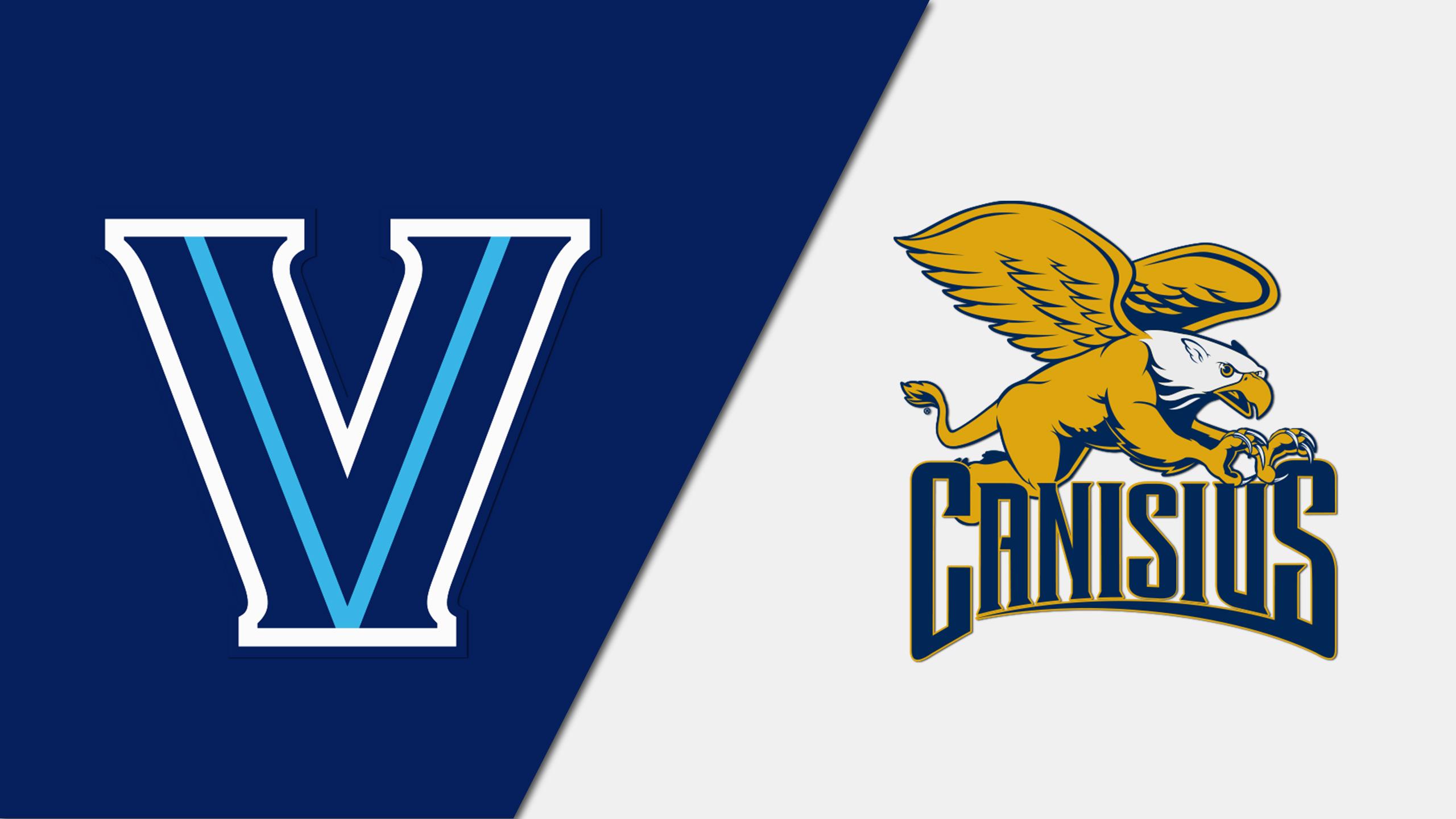 Villanova vs. Canisius (Quarterfinal #1) (Advocare Invitational)