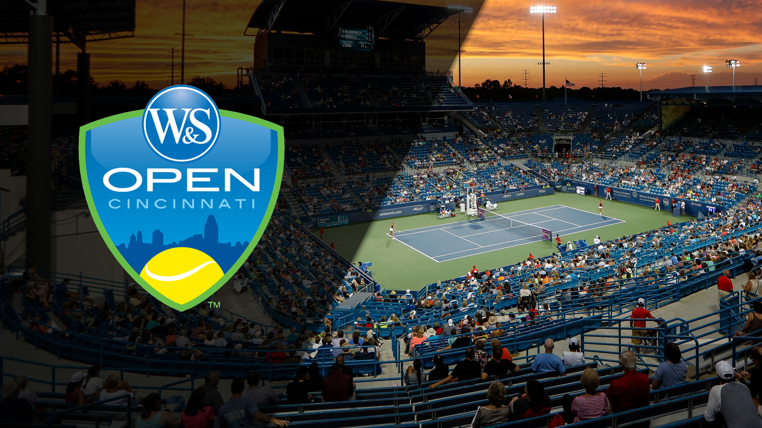 2018 US Open Series - Western & Southern Open (Women's Semifinals & Men's Semifinal #1)