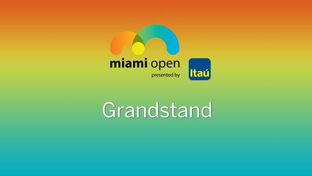 WTA: Grandstand - Miami Open
