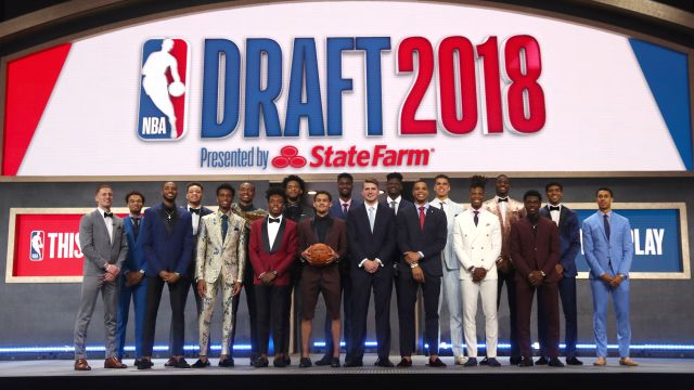 A classe de 2018 do draft da NBA
