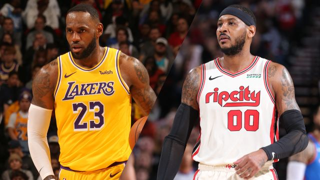Los Angeles Lakers vs. Portland Trail Blazers
