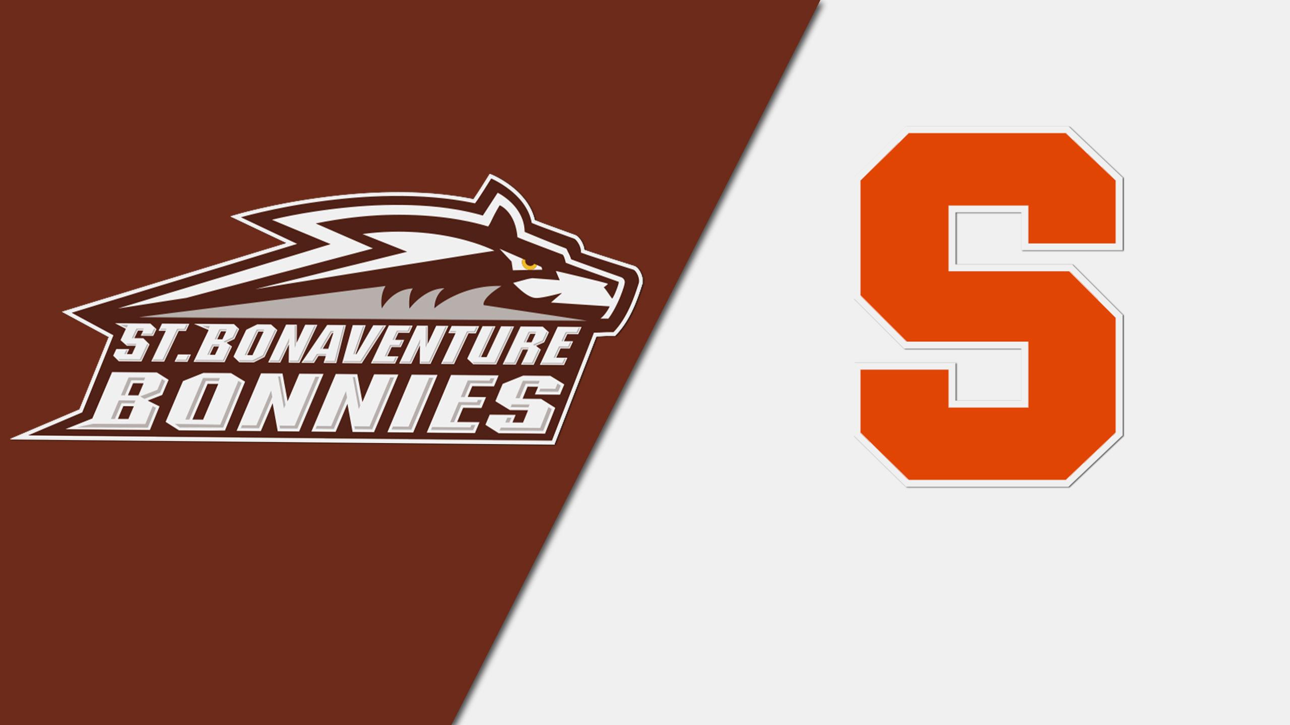 St. Bonaventure vs. #24 Syracuse (M Soccer)
