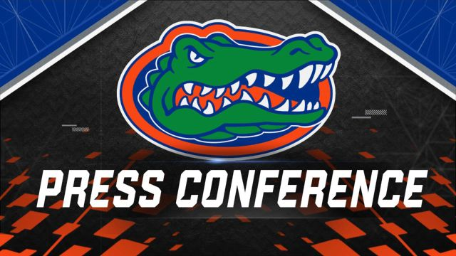 Florida Football Press Conference