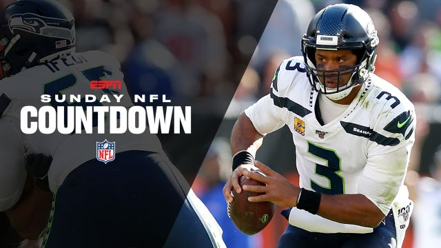 Sun, 10/20 - Sunday NFL Countdown Presented by Snickers