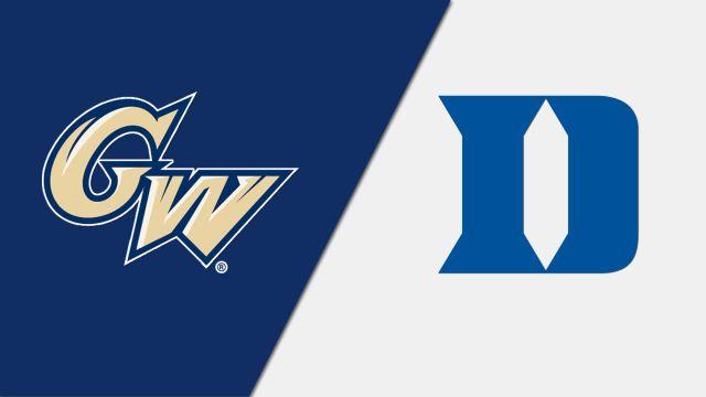 George Washington vs. #19 Duke (W Lacrosse)