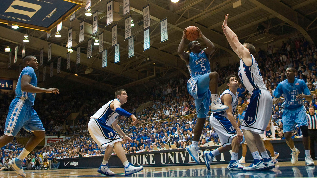 #3 North Carolina vs. #6 Duke (Outermarket) - 2/11/2009 (re-air)