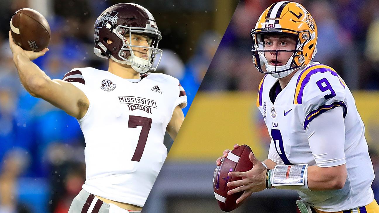 #22 Mississippi State vs. #5 LSU (Football)