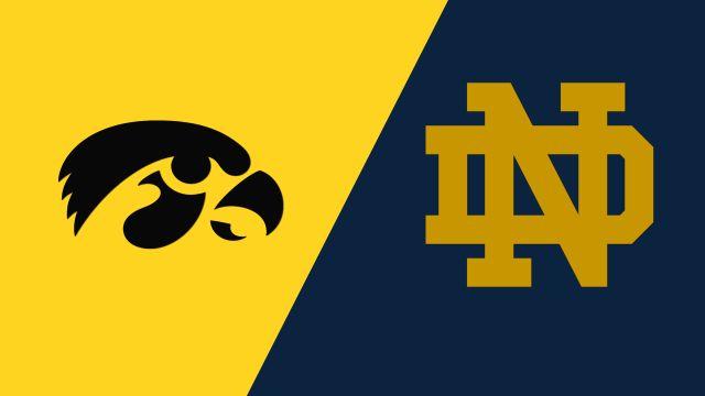 Iowa vs. Notre Dame (W Soccer)