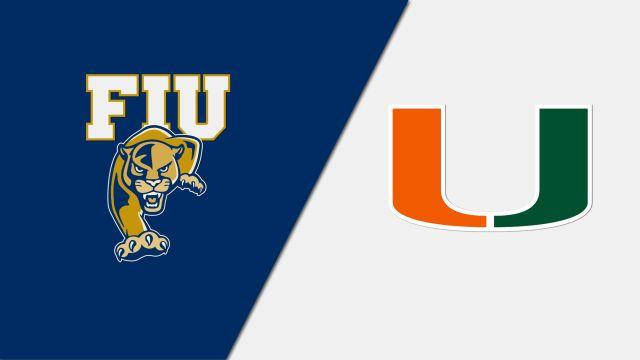 Florida International vs. #24 Miami (Baseball)