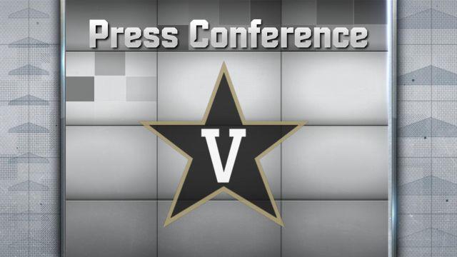Vanderbilt Football Press Conference