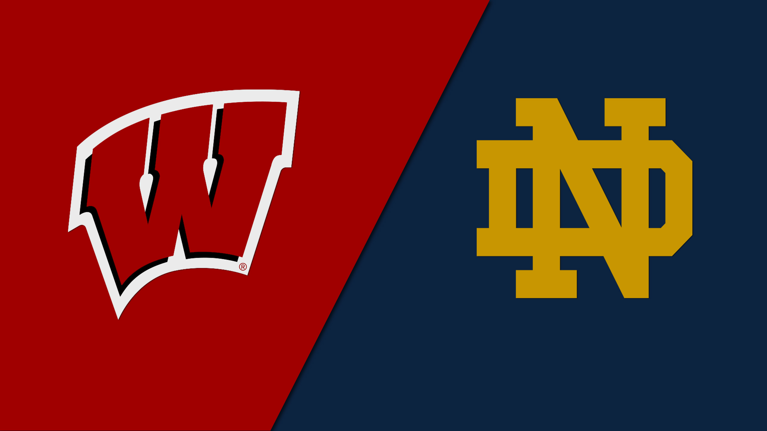Wisconsin vs. Notre Dame (Site 1 / Game 1) (re-air)