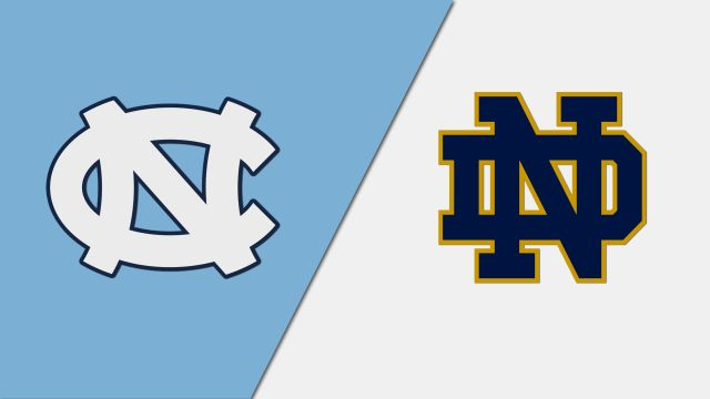 North Carolina vs. Notre Dame (W Basketball)