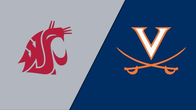 Washington State vs. #1 Virginia (Second Round) (NCAA Women's Soccer Championship)