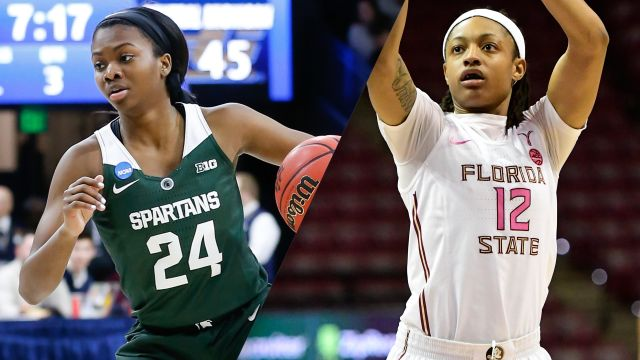 #19 Michigan State vs. #8 Florida State (W Basketball)
