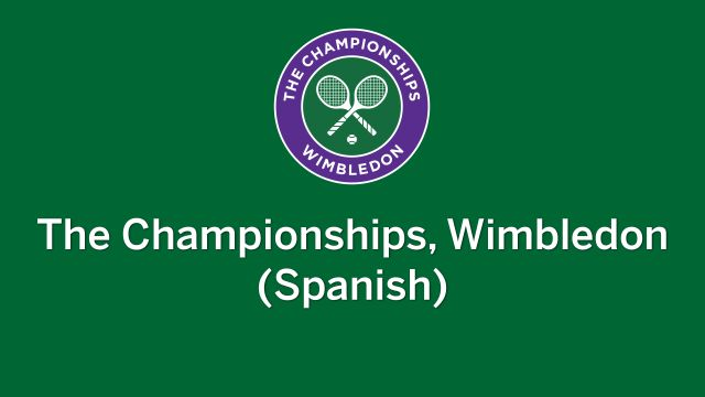 In Spanish-Wimbledon Tennis Championships (Final Masculina)