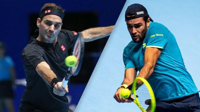 (3) Federer vs. (8) Berrettini
