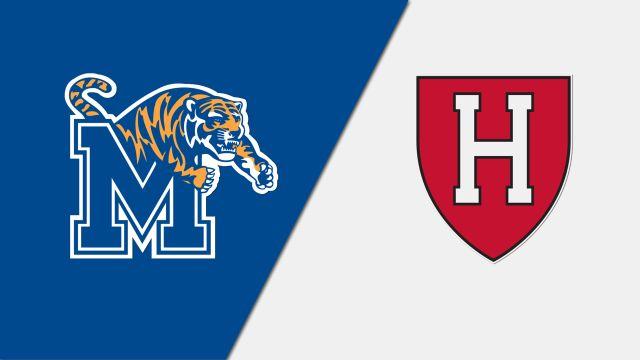Memphis vs. Harvard (Court 2) (W Tennis)
