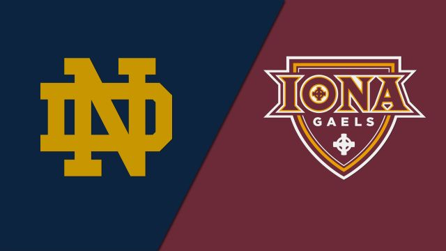 Notre Dame vs. Iona (Rugby)