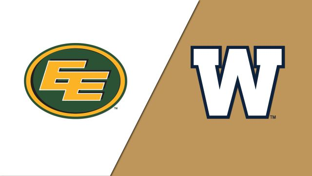 Edmonton Eskimos vs. Winnipeg Blue Bombers (Canadian Football League)