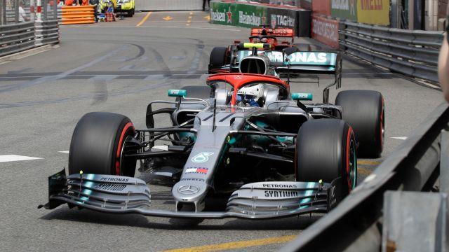 Formula 1 Monaco Grand Prix Qualifying