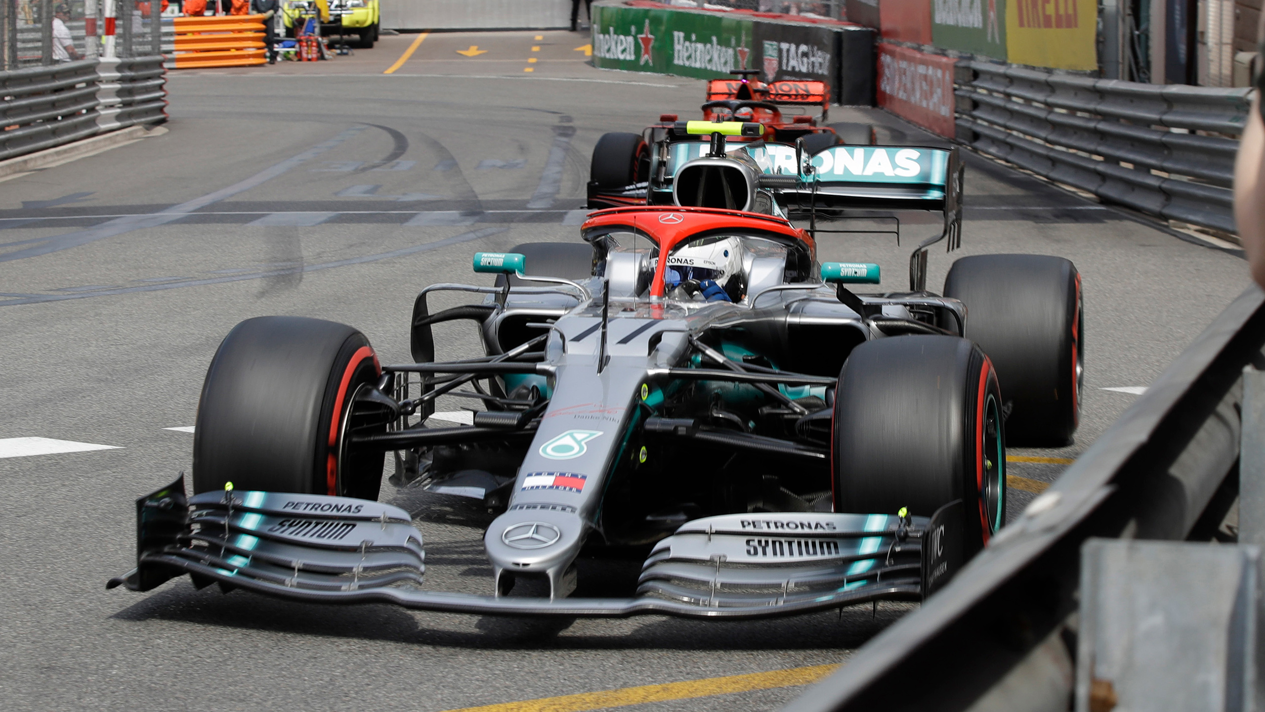 Formula 1 Monaco Grand Prix Qualifying