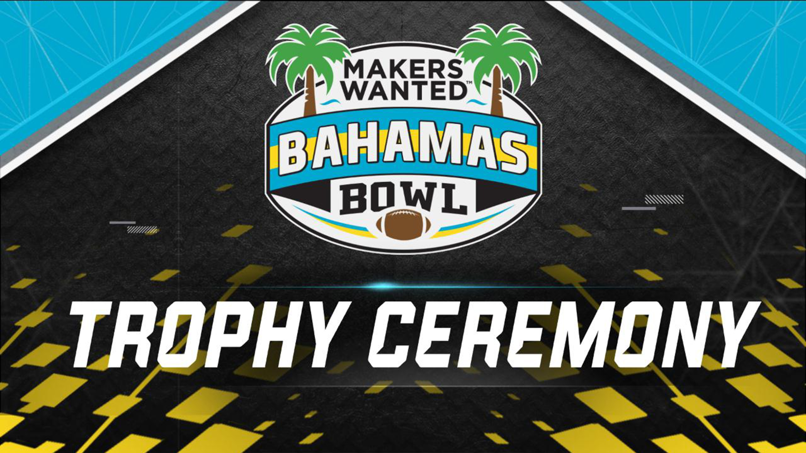 Makers Wanted Bahamas Bowl Trophy Ceremony Presented by Capital One