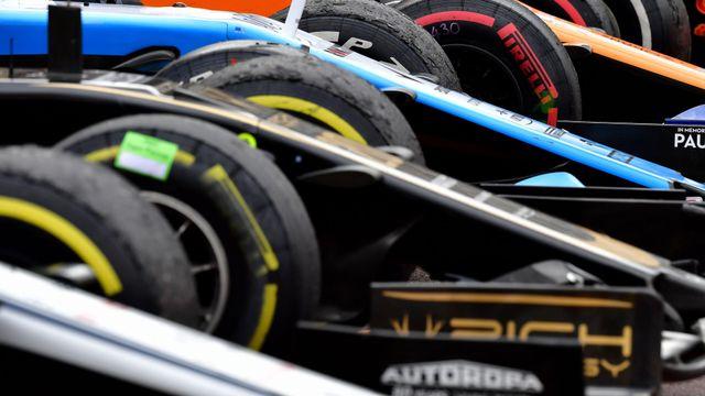 Formula 1 Italy Grand Prix Practice 2