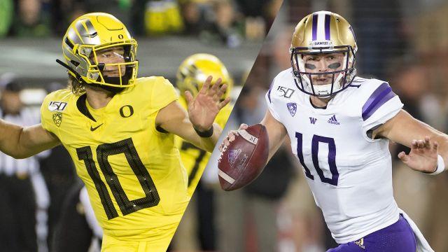 #12 Oregon vs. #25 Washington (Football)
