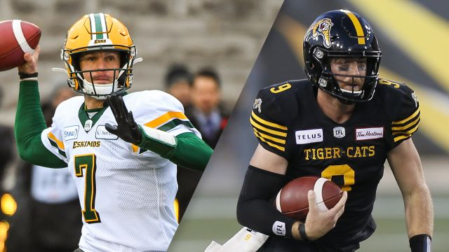 Sun, 11/17 - Edmonton Eskimos vs. Hamilton Tiger-Cats (Eastern Final) (Canadian Football League)